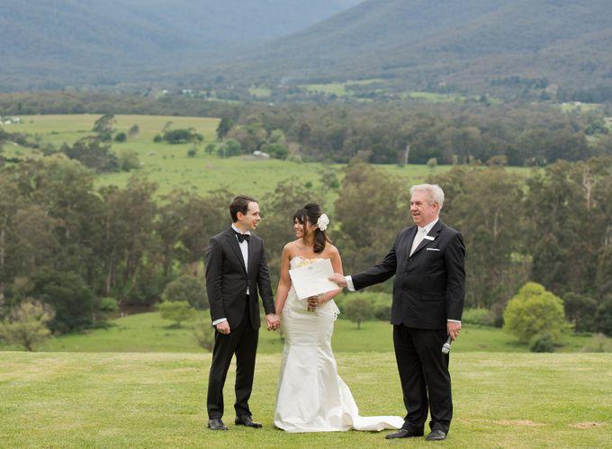 Yarra Valley Weddings by Treasured Ceremonies - 007