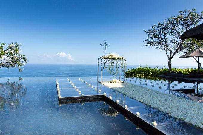 THE BVLGARI WATER WEDDING by Bulgari Resort Bali - 001