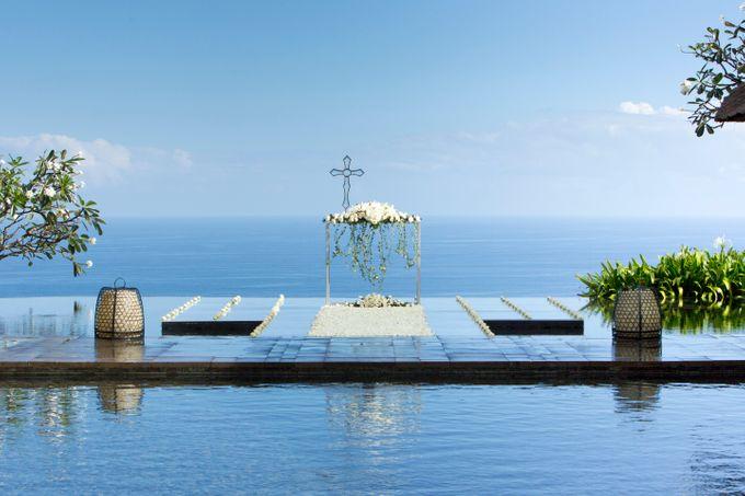 THE BVLGARI WATER WEDDING by Bulgari Resort Bali - 002