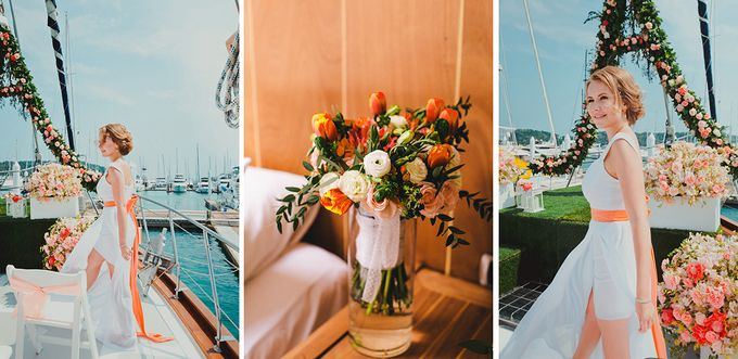 GLAMOROUS YACHT-WEDDING ON BOARD by Wedding Boutique Phuket - 002