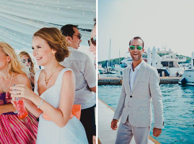GLAMOROUS YACHT-WEDDING ON BOARD by Wedding Boutique Phuket - 004