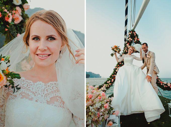 GLAMOROUS YACHT-WEDDING ON BOARD by Wedding Boutique Phuket - 005