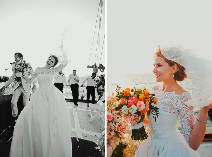 GLAMOROUS YACHT-WEDDING ON BOARD by Wedding Boutique Phuket - 006