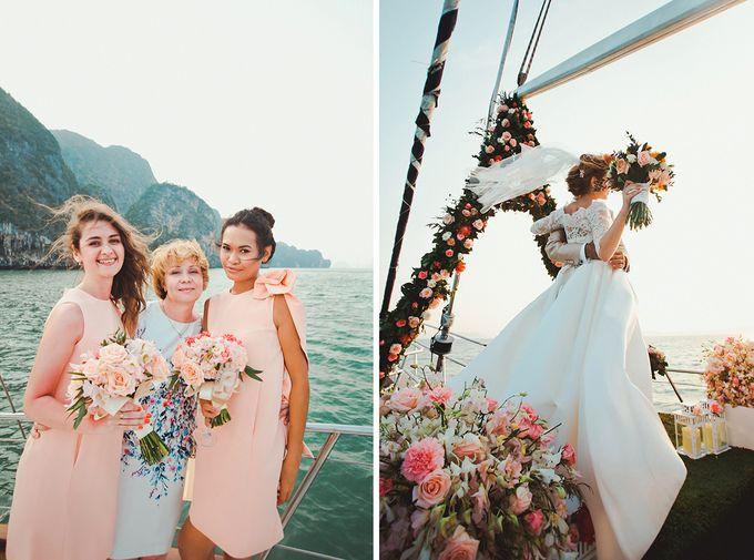 GLAMOROUS YACHT-WEDDING ON BOARD by Wedding Boutique Phuket - 007
