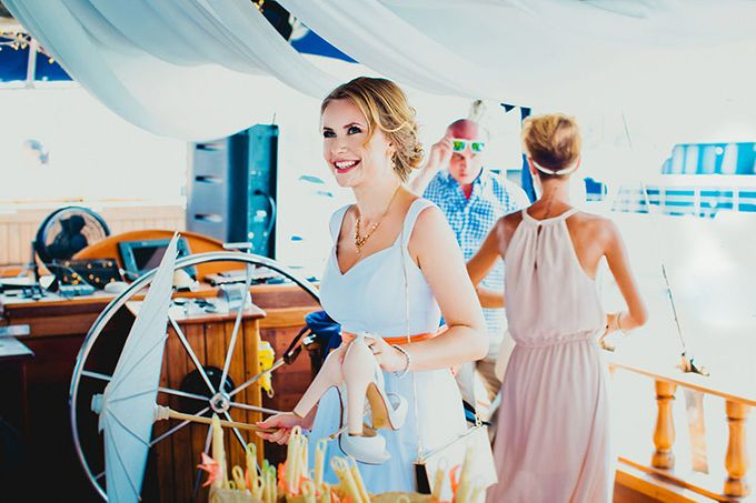 GLAMOROUS YACHT-WEDDING ON BOARD by Wedding Boutique Phuket - 010