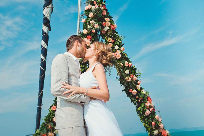 GLAMOROUS YACHT-WEDDING ON BOARD by Wedding Boutique Phuket - 011