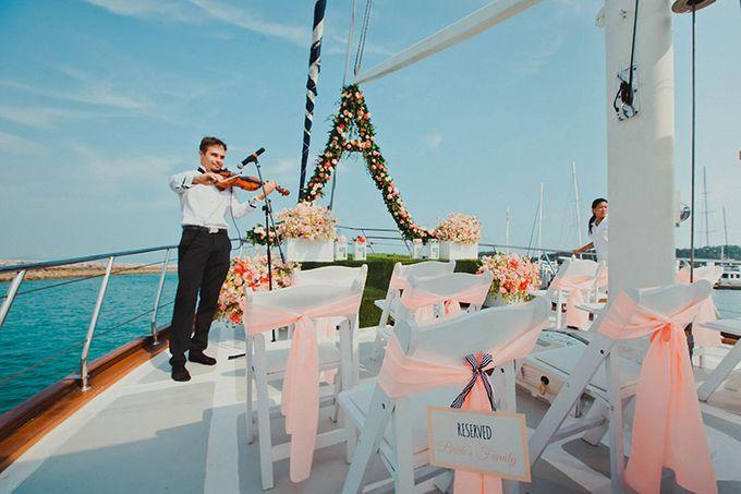 GLAMOROUS YACHT-WEDDING ON BOARD by Wedding Boutique Phuket - 012