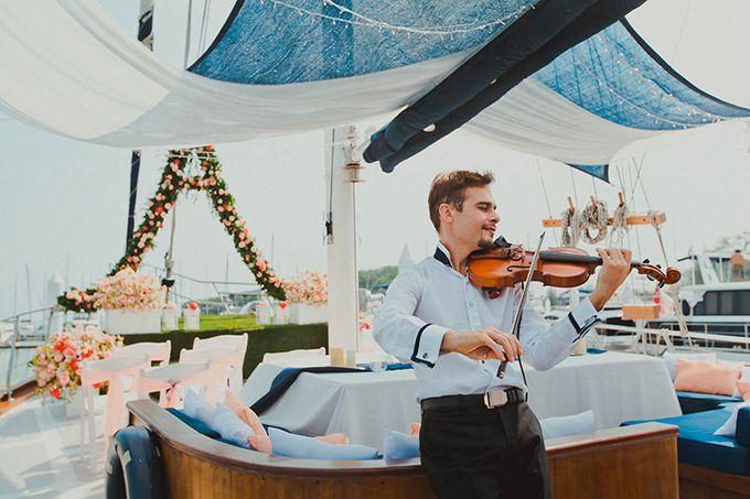 GLAMOROUS YACHT-WEDDING ON BOARD by Wedding Boutique Phuket - 013