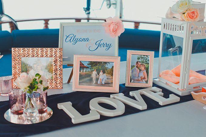 GLAMOROUS YACHT-WEDDING ON BOARD by Wedding Boutique Phuket - 017
