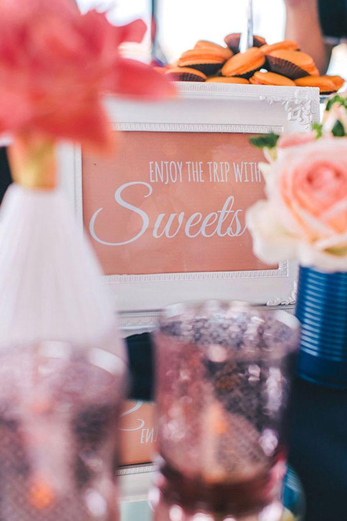 GLAMOROUS YACHT-WEDDING ON BOARD by Wedding Boutique Phuket - 020