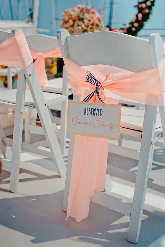GLAMOROUS YACHT-WEDDING ON BOARD by Wedding Boutique Phuket - 023