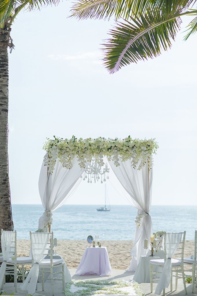WHITE ELEGANCE-WEDDING AT LUXURY CLUB by Wedding Boutique Phuket - 002