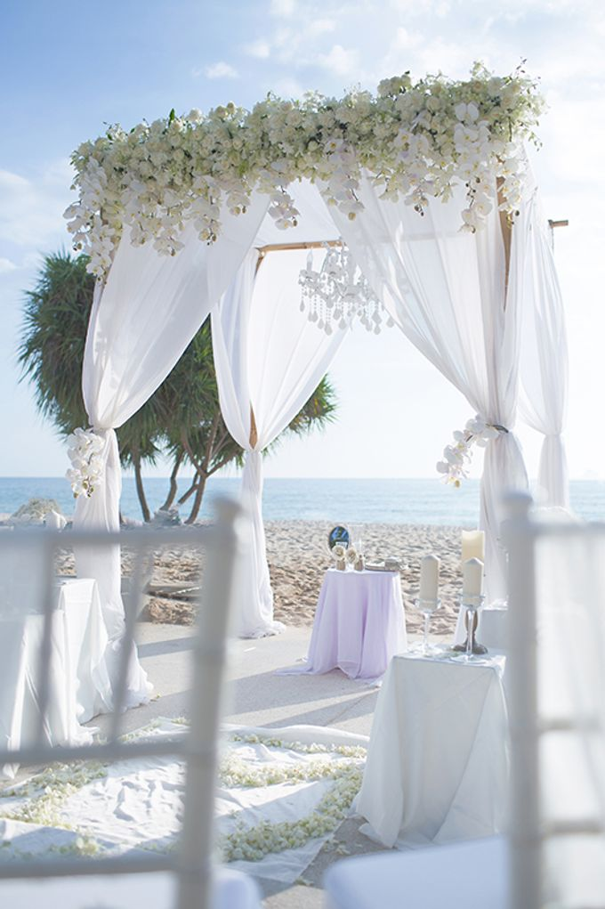 WHITE ELEGANCE-WEDDING AT LUXURY CLUB by Wedding Boutique Phuket - 009