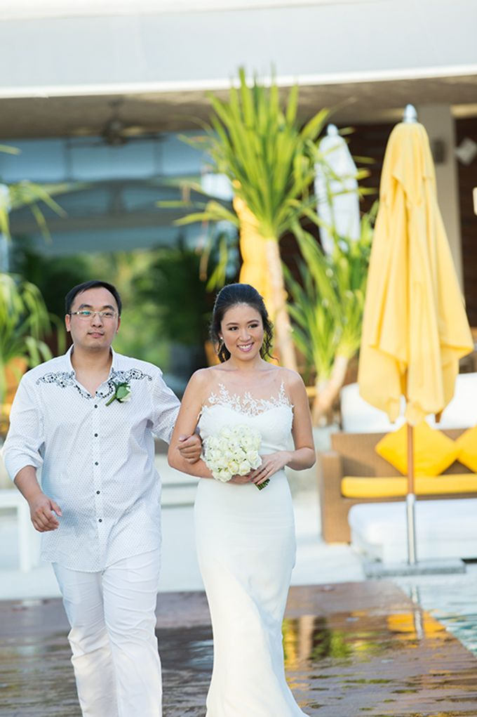 WHITE ELEGANCE-WEDDING AT LUXURY CLUB by Wedding Boutique Phuket - 012