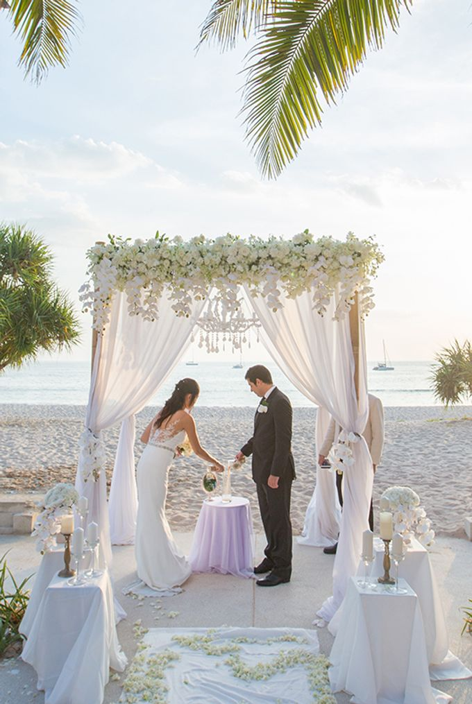 WHITE ELEGANCE-WEDDING AT LUXURY CLUB by Wedding Boutique Phuket - 018
