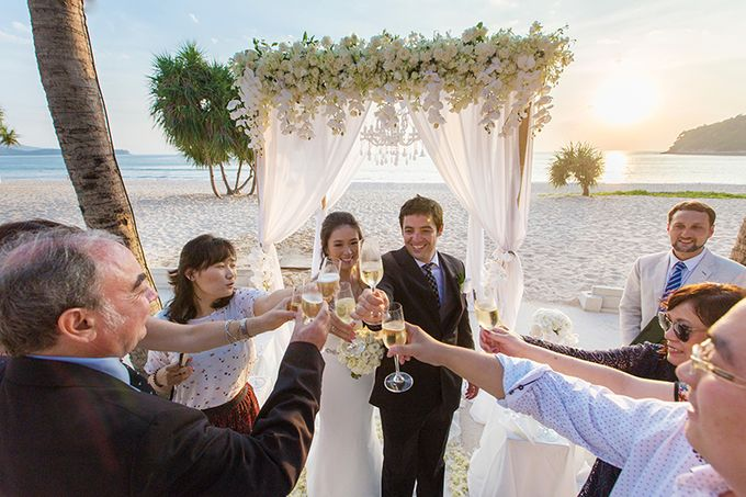 WHITE ELEGANCE-WEDDING AT LUXURY CLUB by Wedding Boutique Phuket - 021
