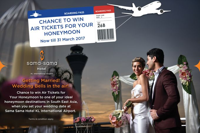 Wedding Contest CHANCE TO WIN AIR TICKETS by Sama-Sama Hotel - 001