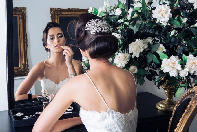 Bridal Boudoir- The Getting Ready Moments Captured In Style by Imagery by Jasmina - 001