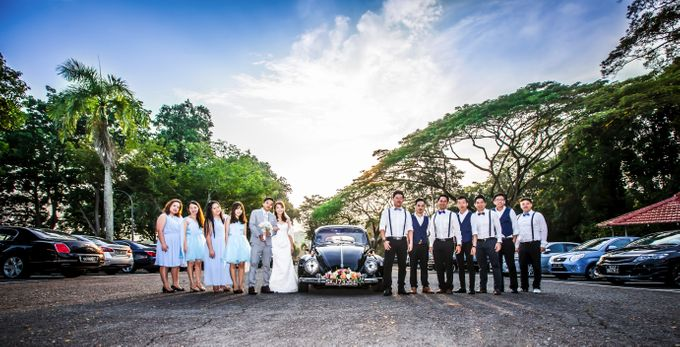 Wedding Day of Gabriel & Jocelyn by AK Kua Photography - 010