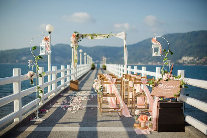 POP OUT OF A DREAM- WEDDING ON A PRIVATE PIER by Wedding Boutique Phuket - 008