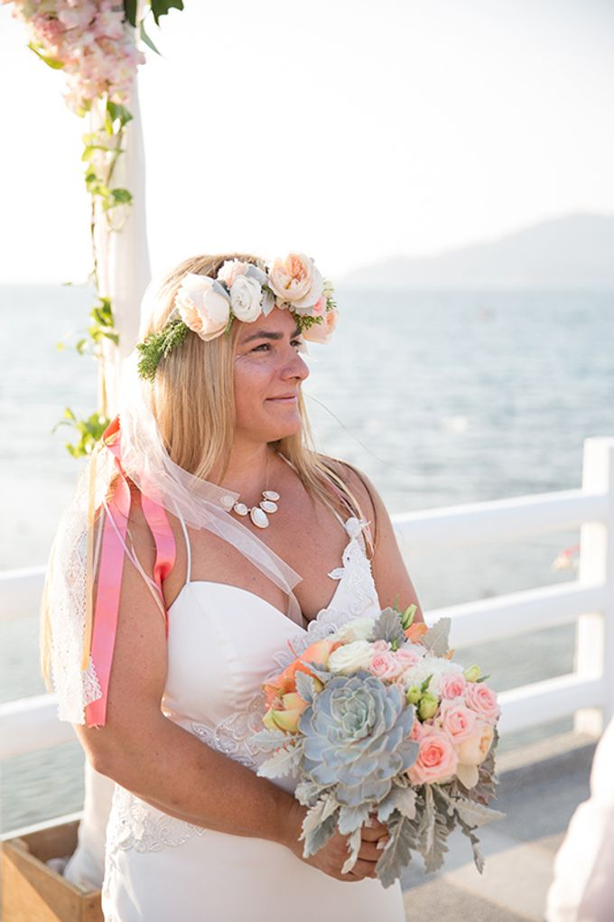POP OUT OF A DREAM- WEDDING ON A PRIVATE PIER by Wedding Boutique Phuket - 011