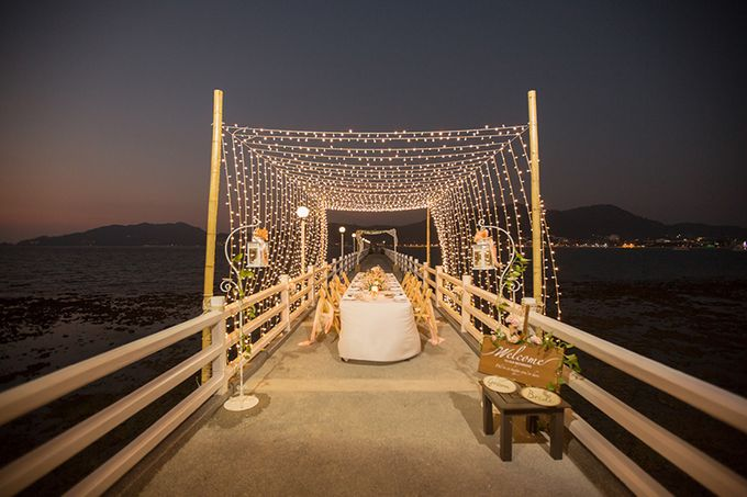 POP OUT OF A DREAM- WEDDING ON A PRIVATE PIER by Wedding Boutique Phuket - 020
