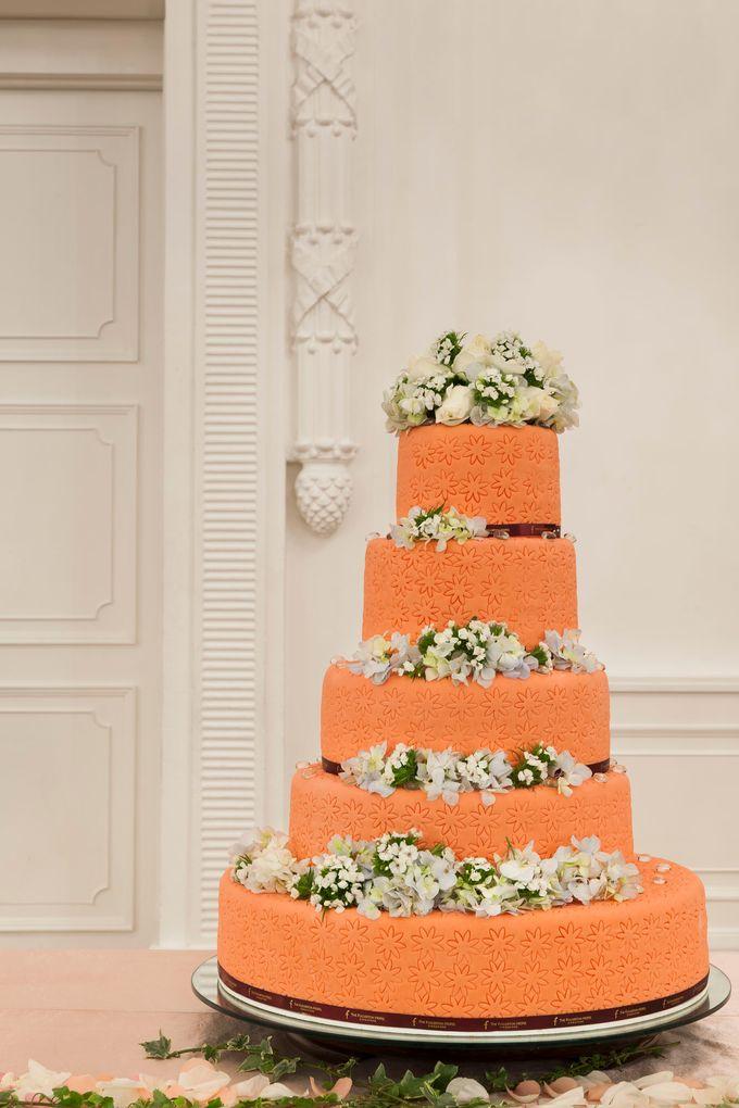 Model Wedding Cake by The Fullerton Hotels - 003