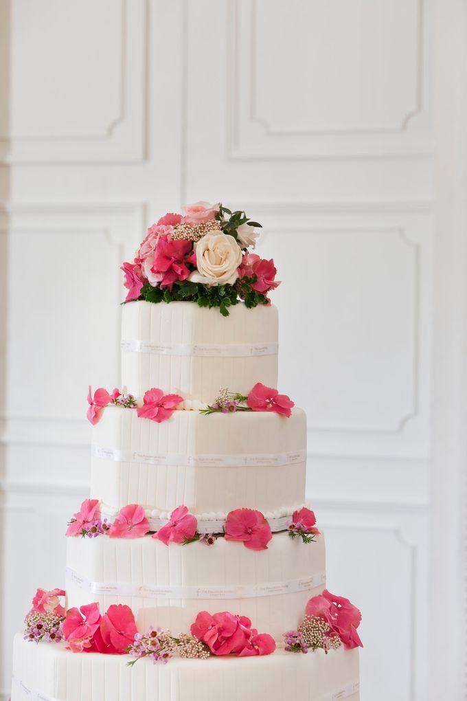 Model Wedding Cake by The Fullerton Hotels - 004