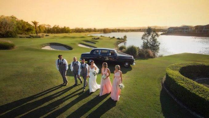Classic Daimler major Magestic Wedding Car by Tic Tac Tours & Premier Limousines - 016
