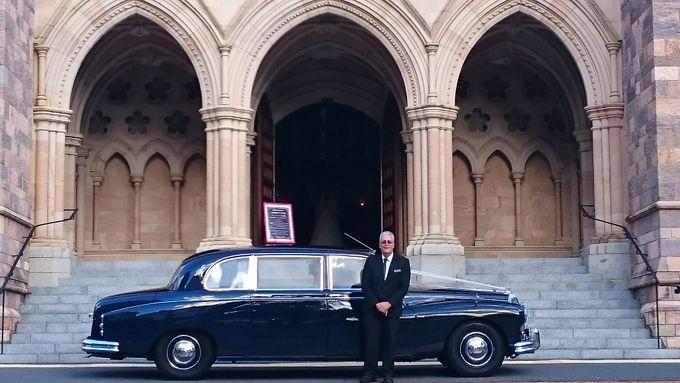 Classic Daimler major Magestic Wedding Car by Tic Tac Tours & Premier Limousines - 018