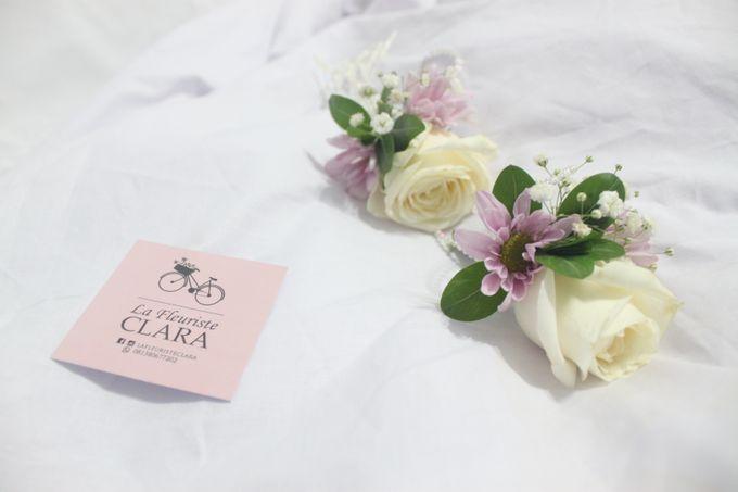 Wedding Corsage by La Fleuriste Clara - 001