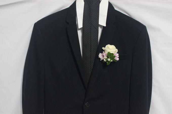 Wedding Corsage by La Fleuriste Clara - 005