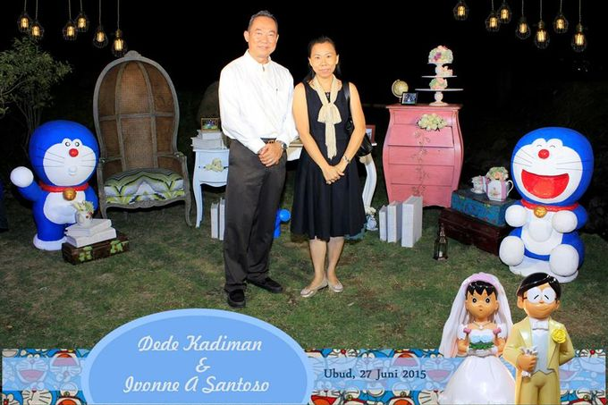 The Wedding of Dede and Ivonne by Happy Moment PhotoBooth - 012