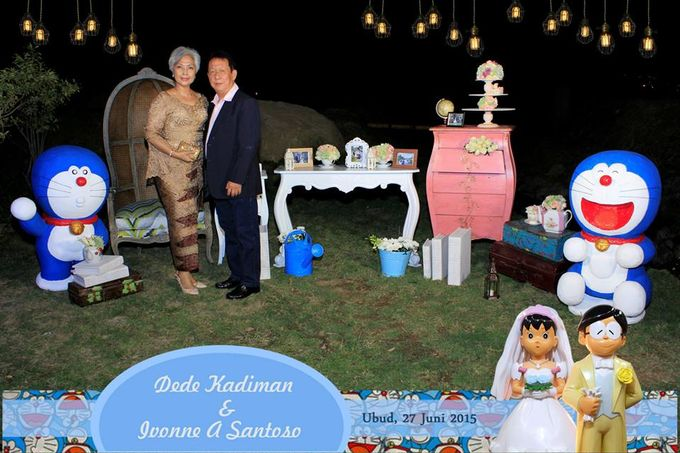 The Wedding of Dede and Ivonne by Happy Moment PhotoBooth - 005