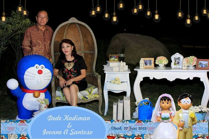 The Wedding of Dede and Ivonne by Happy Moment PhotoBooth - 013