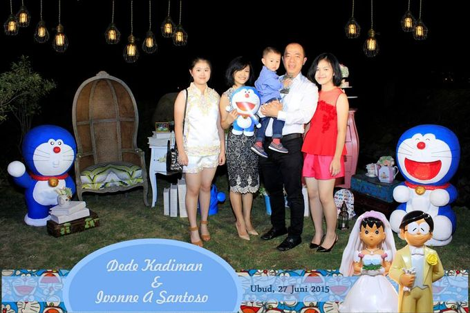 The Wedding of Dede and Ivonne by Happy Moment PhotoBooth - 014