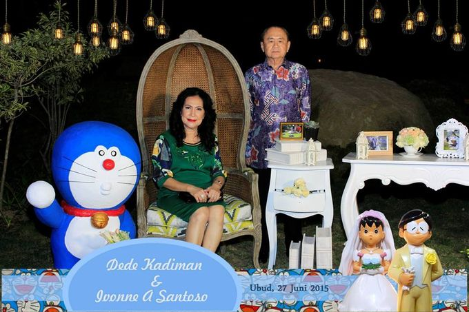 The Wedding of Dede and Ivonne by Happy Moment PhotoBooth - 015
