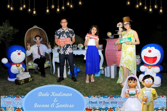 The Wedding of Dede and Ivonne by Happy Moment PhotoBooth - 004