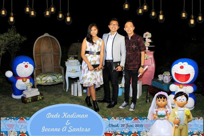 The Wedding of Dede and Ivonne by Happy Moment PhotoBooth - 017