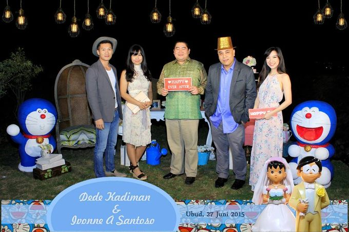 The Wedding of Dede and Ivonne by Happy Moment PhotoBooth - 003