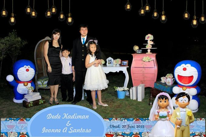 The Wedding of Dede and Ivonne by Happy Moment PhotoBooth - 006
