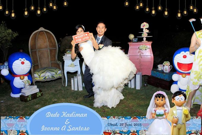 The Wedding of Dede and Ivonne by Happy Moment PhotoBooth - 001