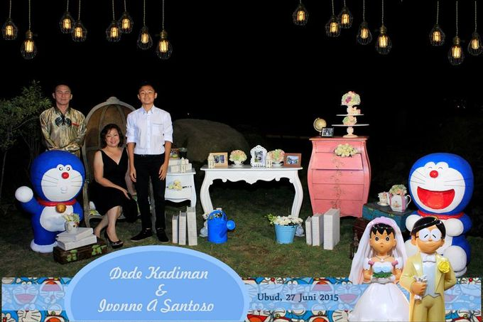 The Wedding of Dede and Ivonne by Happy Moment PhotoBooth - 008