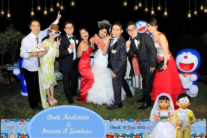 The Wedding of Dede and Ivonne by Happy Moment PhotoBooth - 002