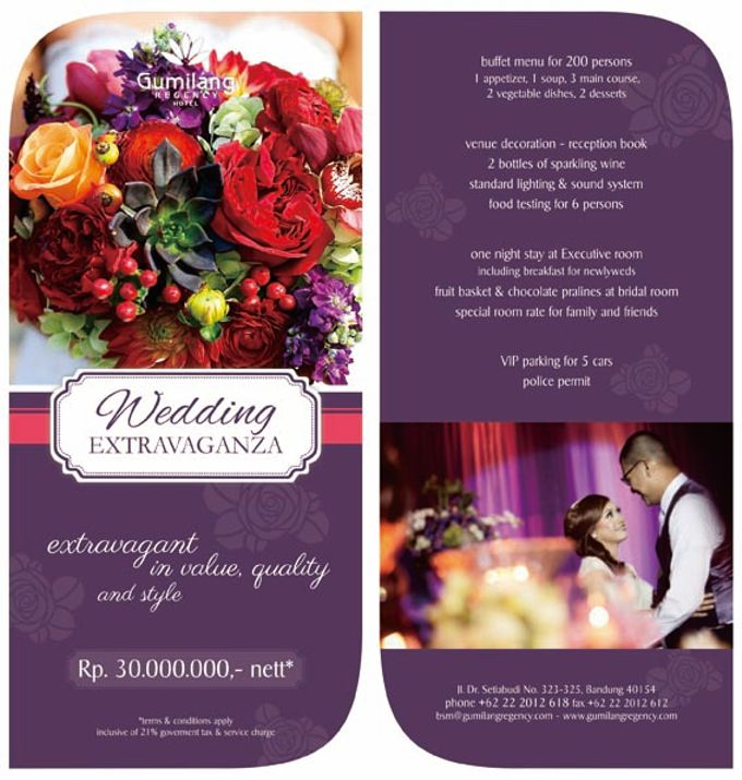 Wedding Packages by Gumilang Regency Hotel - 006