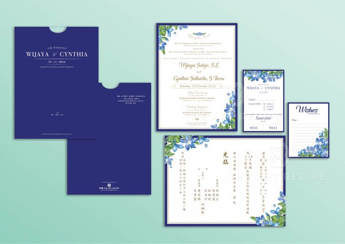 Custom Wedding Invitation by Paper and Oath - 005