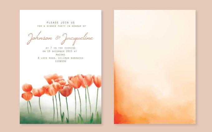 Wedding invitation suite by Faith Creative Studio - 002