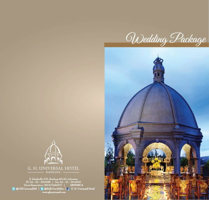 Wedding Package by GH Universal Hotel - 001