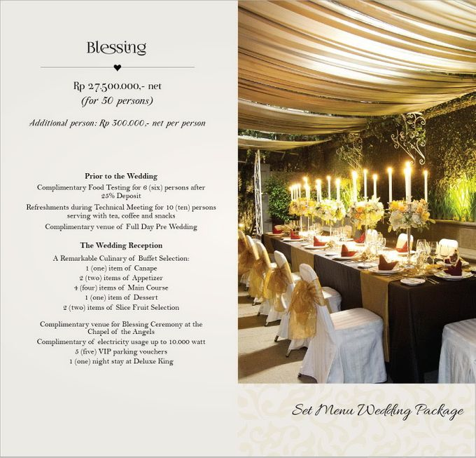 Wedding Package by GH Universal Hotel - 004