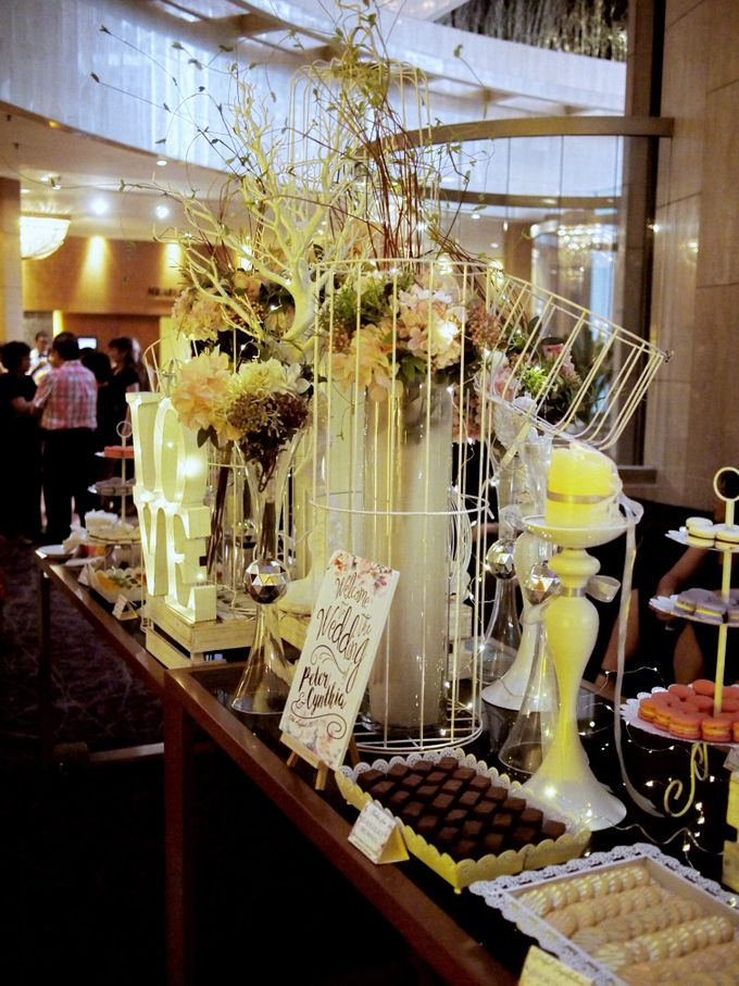 Wedding Paradiso Dessert Table by Manna Pot Catering - 002